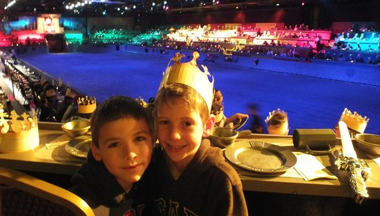 Medieval Times: cousins ... and best friends