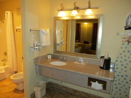 Best Western Pine Springs Inn: sink area 114