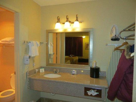 Best Western Pine Springs Inn: sink area 223