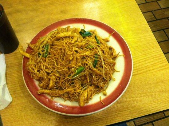 Sun Sai Gai: the noodles had a nice texture