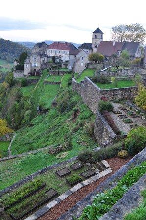 Le Relais des Abbesses : Stunning views