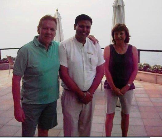 The Leela Kovalam Beach: With Gaurav Chopra who was a star.