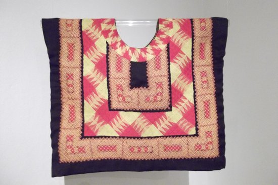 Museo Textil de Oaxaca: Traditional woman's top with intricate embroidery