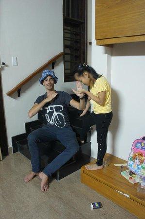 Jolie Villa Hoi An Homestay : Lovely family