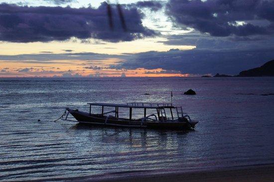 Novotel Lombok: Sunset