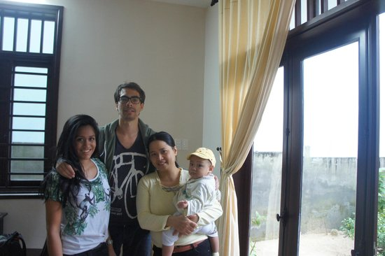 Jolie Villa Hoi An Homestay: Lovely family