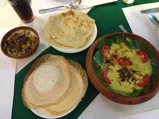 Oceanos Restaurant: Fish Curry