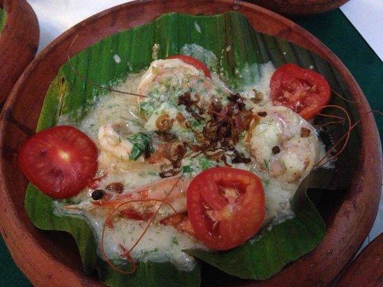 Oceanos Restaurant: King Prawns