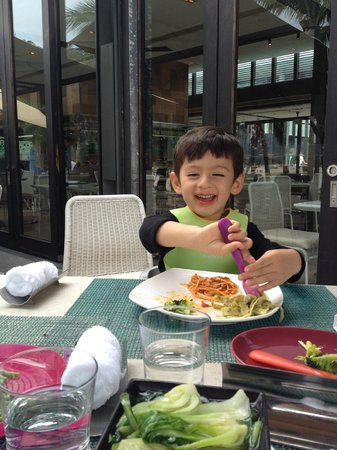 InterContinental Sanya Resort: happy to eat