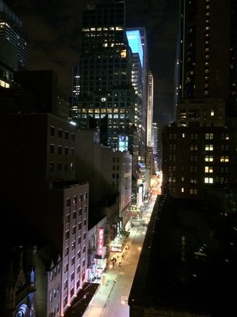 Hilton Garden Inn Times Square : view from 1401