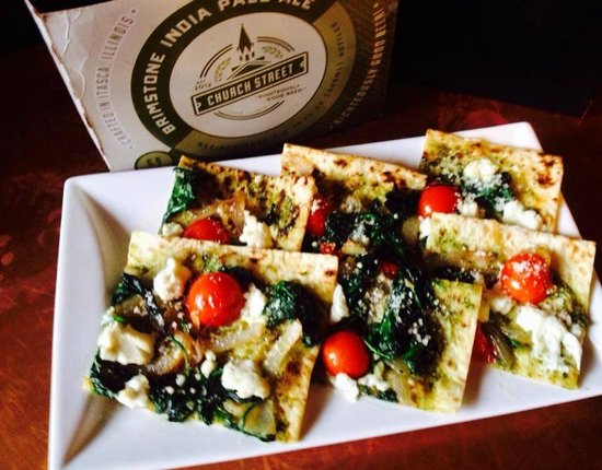 Kinderhook Tap : Flat bread pizza special and craft beer