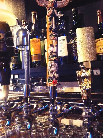 Kinderhook Tap: Our kind of flare! Vintage tap handles for the right rotating craft beer taps!