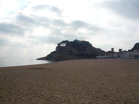 Playa Grande: вид на крепость