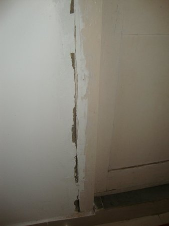 Holiday Resort  (The Reef ): Entrance of Room , Walls and Doors Cracked
