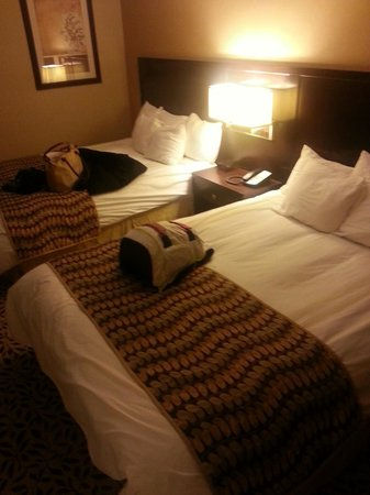 Courtyard by Marriott Lake Placid: Beds!