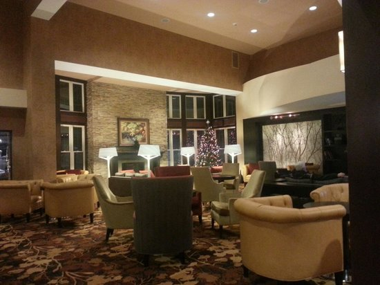 Courtyard by Marriott Lake Placid: Lounge Area