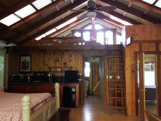 Volcano Village Lodge: Open Floor Plan