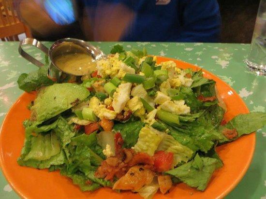 Flying Star Cafe: cobb salad