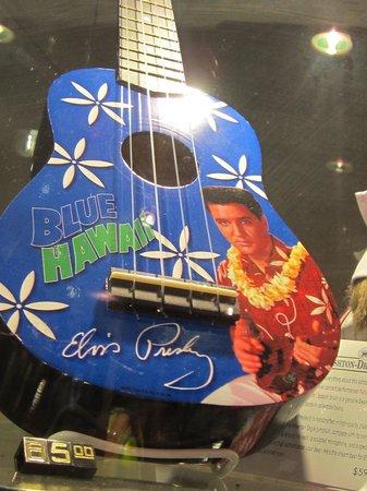 Gift Shop Elvis Guitar - Picture of Graceland, Memphis - TripAdvisor