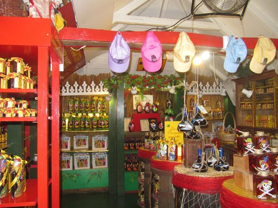 Sint Maarten Guavaberry Company: inside the Emporium
