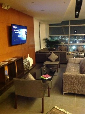 Holiday Inn Guayaquil Airport : exec lounge