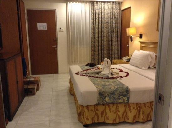 Kuta Station Hotel: deluxe room