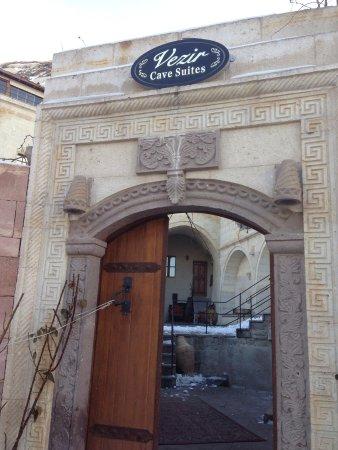 Vezir Cave Suites: Entrance