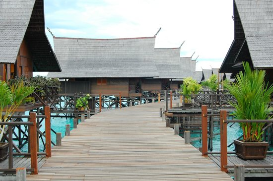 Sipadan Kapalai Dive Resort: Water Bungalows