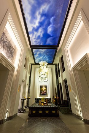 Shinta Mani Club : Lobby at the Resort