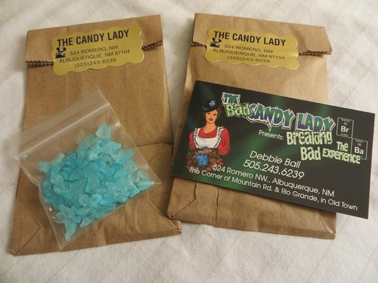 """The Candy Lady: """"Blue crystal meth"""" candy"""