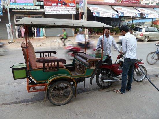 Soria Moria Boutique Hotel: Tuktuk