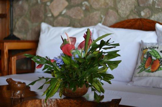 Ladera Resort: beautiful greeting