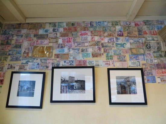 World Cup Cafe: Walls of money