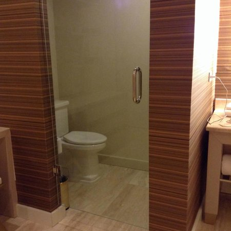 Waldorf Astoria Panama: You have to be okay with the glass door to the toilet (only in the large suites)
