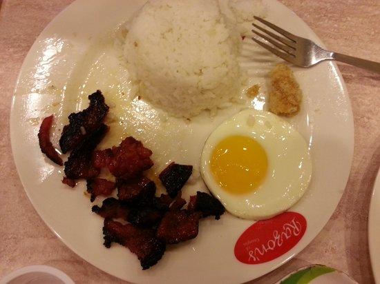 Razon's of Guagua: Razon's burnt food