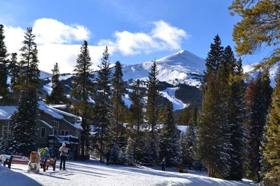 Beautiful view from the Breckenridge Nordic Center.