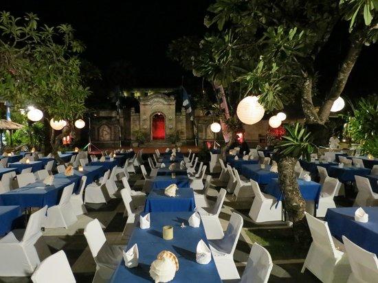 Grand Mirage Resort : dinner buffet