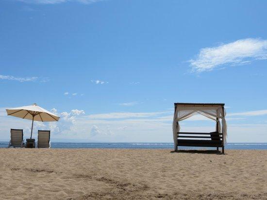 Grand Mirage Resort and Thalasso Bali: beach!