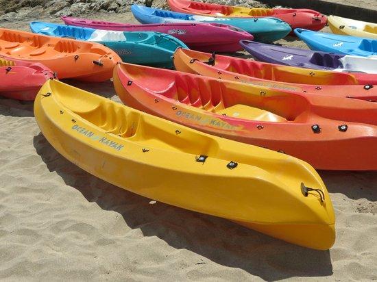 Grand Mirage Resort and Thalasso Bali: kayaking anyone?