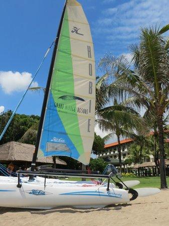 Grand Mirage Resort & Thalasso Spa - Bali: catamaran boat