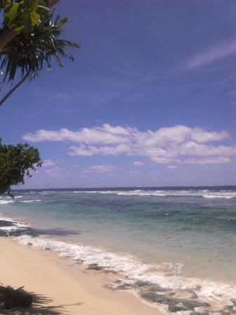 Maqai Beach Eco Surf Resort: paradise!