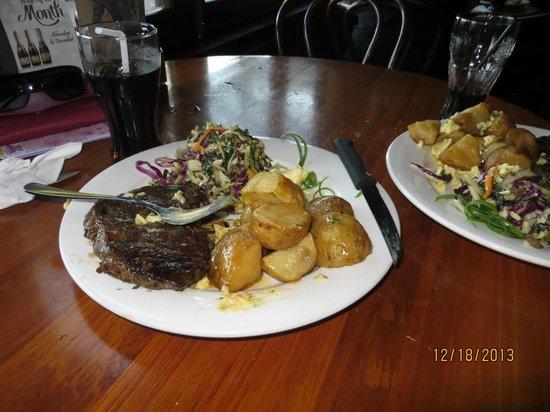Lone Star Rotorua: Steak dinners