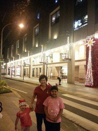 Holiday Inn Singapore Orchard City Centre: merry christmas