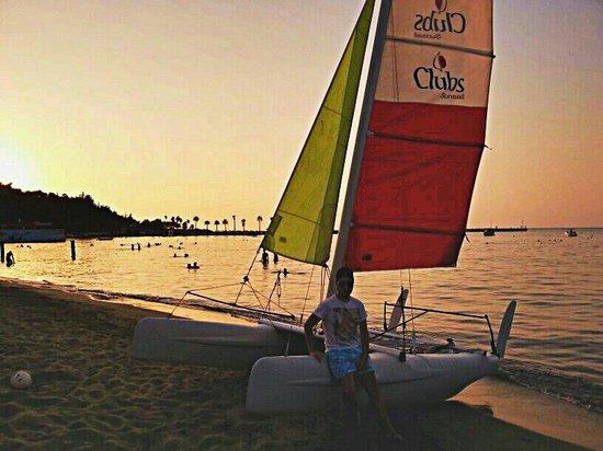 Arsuz Hotel: Beach - Sunset