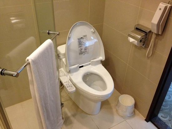 Gallery Hotel: Luxury Toilet