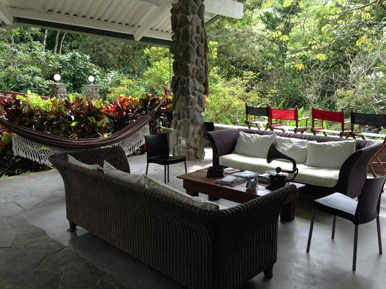 Canopy Lodge: The common area