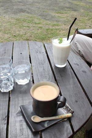 fuu cafe: 飲み物だけ頼みました