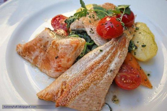 Zum Alten Markt: Delicious salmon trout