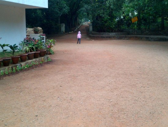 YMCA Yelagiri: Way back to room from Dining Hall