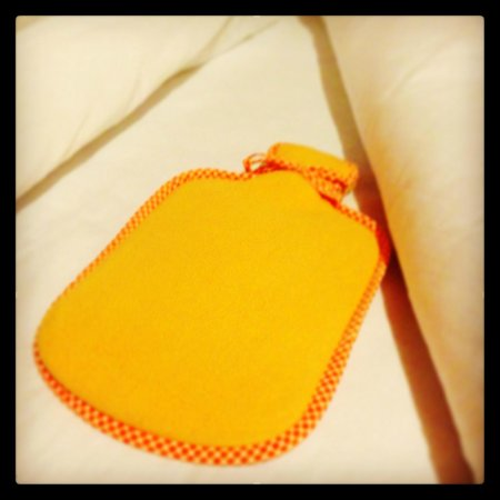 Cabanas San Isidro : The cute hot water bottle they send you to your room with.